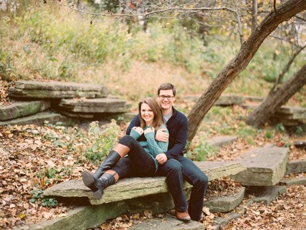 Jessica and Chris Lincoln Park Fall Engagement_0001