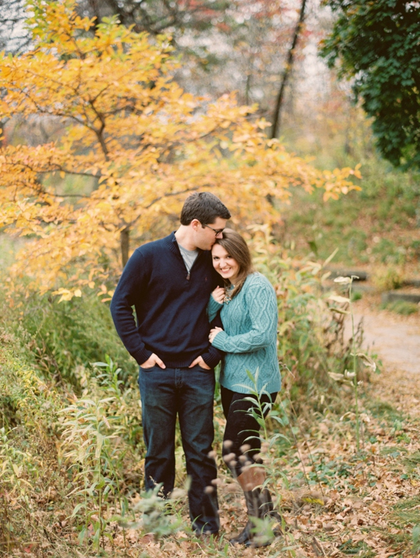 Jessica and Chris Lincoln Park Fall Engagement_0002
