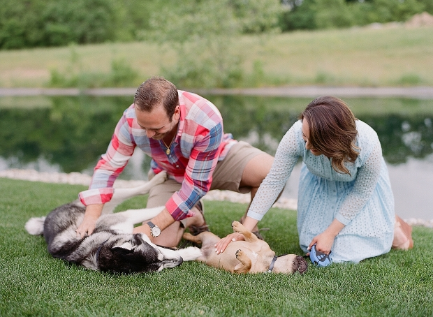 indiana engagement session with dogs and horses_0001