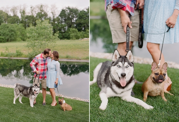 indiana engagement session with dogs and horses_0002