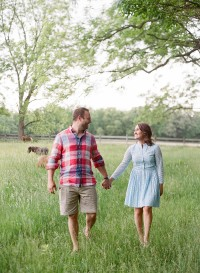 indiana engagement session with dogs and horses_0003