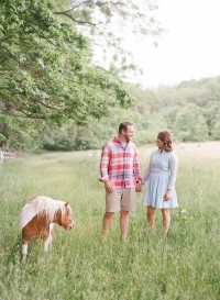 indiana engagement session with dogs and horses_0005